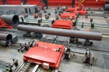 Pipe elevator and conveyor systems